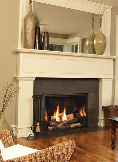 Town And Country Fireplace Interior Design