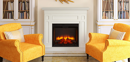 Electric Fireplaces from SimpliFire