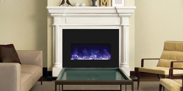 Beige interior fireplace modern atmospheric lounge living room